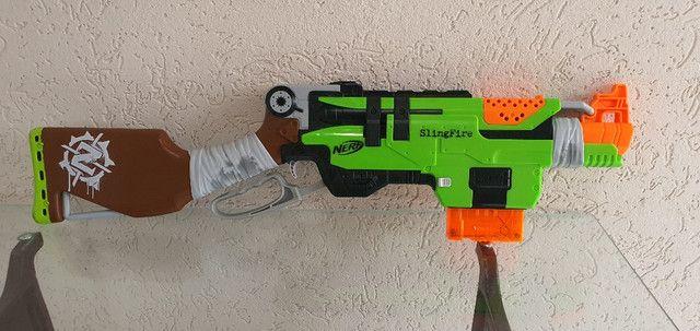 Nerf slingfire usada