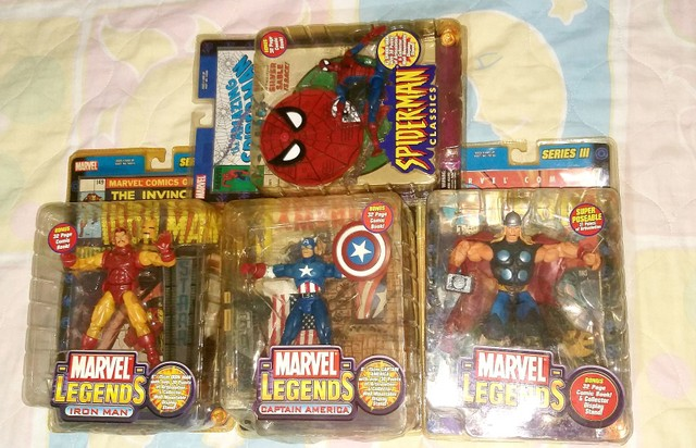 Marvel Legends - Toy Biz - Lacradas