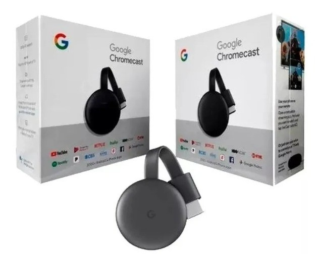 Chromecast 3 Lacrado Original Google