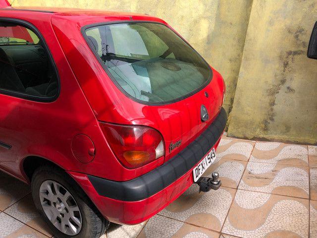 Fiesta 2001 GNV básico R$4.500k REPASSE - Foto 4
