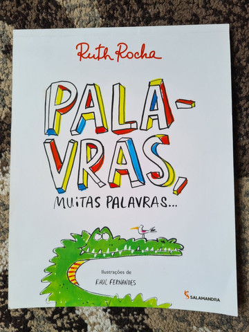 Palavras, Muitas Palavras - Ruth Rocha