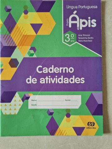 Projeto Ápis Português - 3° Ano - Foto 2
