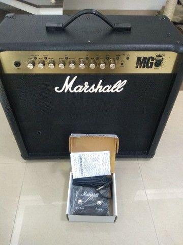 Cubo Guitarra Marshall MG 100 FX - 100 watts - Foto 2
