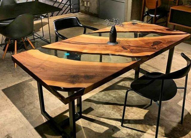 Mesas River table, fabricamos sob medida