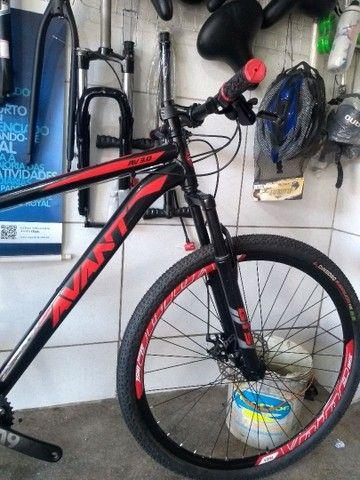 Bicicleta aro 29 de alumínio com rolamento Nova - Foto 4