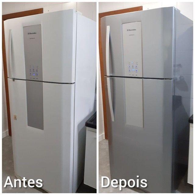 Envelopamento em geladeiras, móveis, elétrons em geral etc