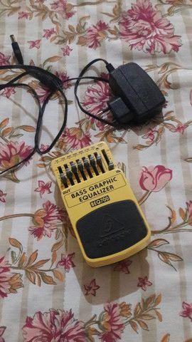 Pedal equalizador pra guitarra ou baixo