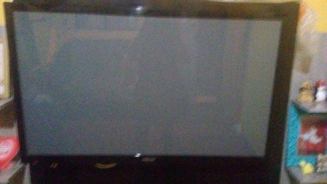 TV plasma Samsung semi nova não é smart TV  - Foto 3