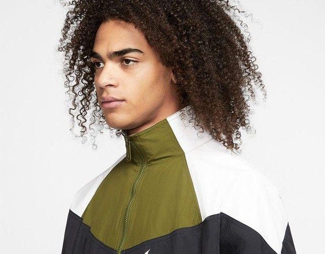 Jaqueta corta vento Nike NSW Woven - Foto 3
