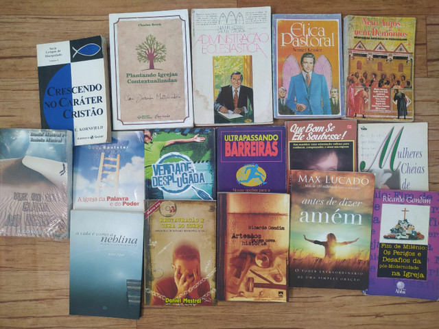 Kit Livros Cristãos 10 reais