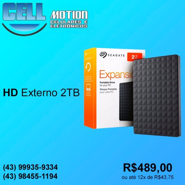 HD Externo 2TB