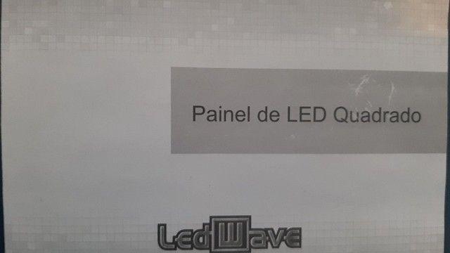 luminária de embutir LED quadrada 24w - Foto 5