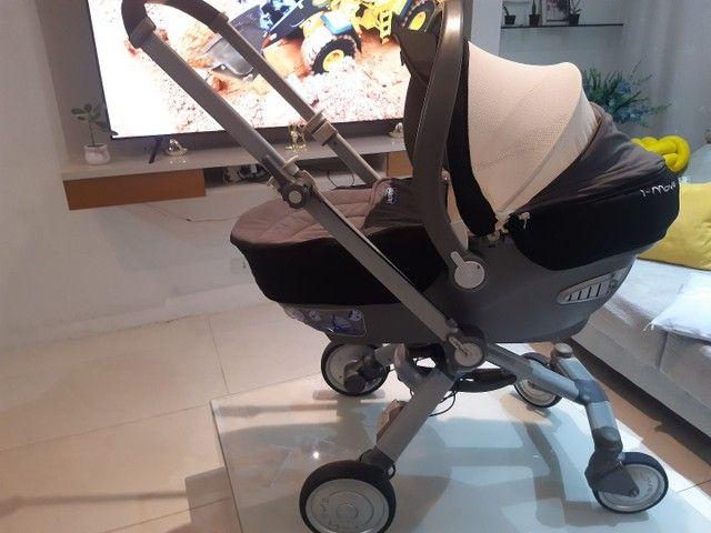 Carrinho de bebê trio Chicco Imove . Fone: * - Foto 3