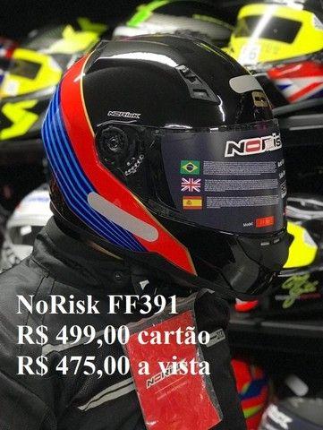 Capacetes NoRisk a partir de R$ 425,00 JL Parts - Foto 6