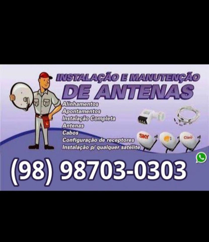 Servicos de Instalação Antenas