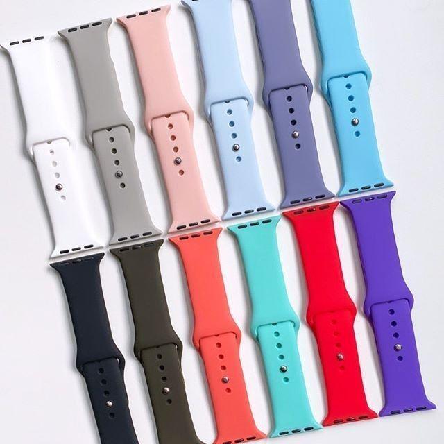 Pulseira de silicone macio Apple watch 42 mm - 44 mm