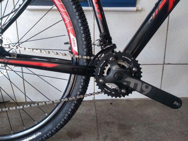 Bicicleta aro 29 de alumínio com rolamento Nova - Foto 6