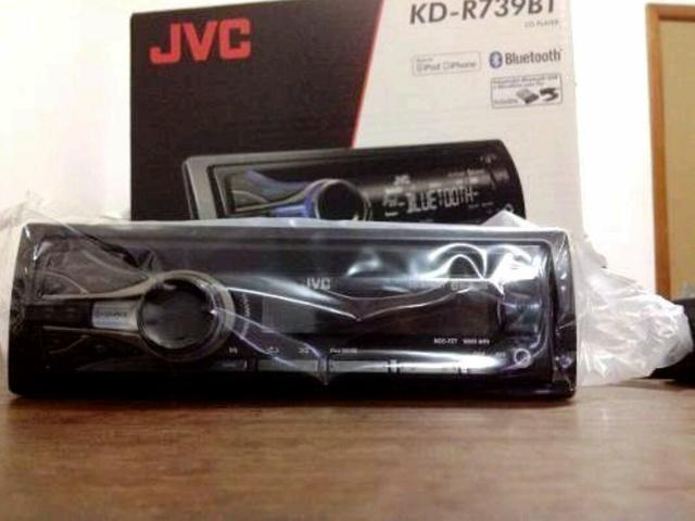 CD Player Automotivo JVC KD-R739BT
