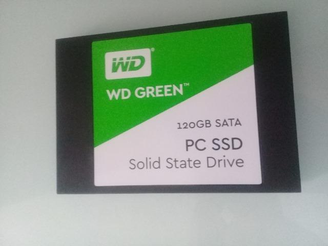 H.D 120GB Ssd W.D P/Notebook e PC - Garantia