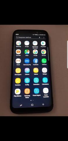 Galaxy S8 plus Impecável ( nota fiscal)