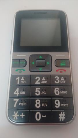 Celular Idoso Multilaser, Com botão SOS Original. 3 chips