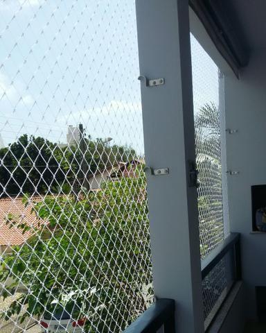 Redes de proteção para sacadas e janelas