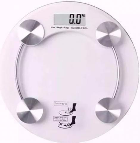 Balanca Digital Vidro Temperado 180kg Banheiro Aca