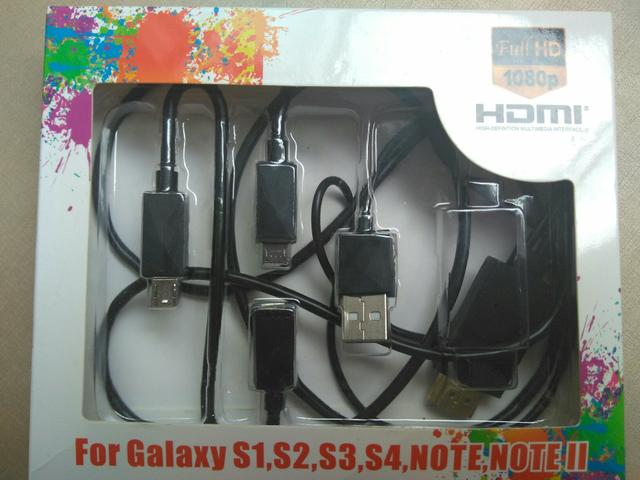 Adaptador de Smartphone ou Tablet para TV
