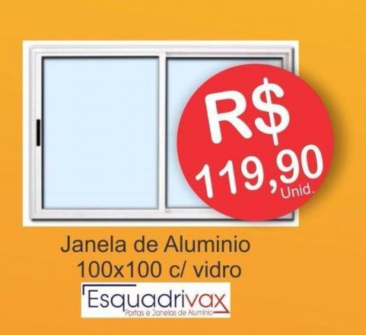 Janela Alumínio 100X100