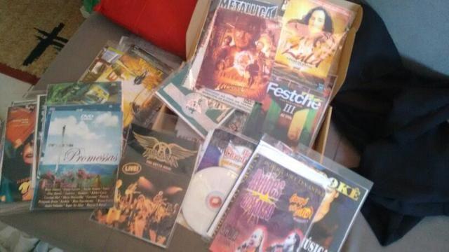 Coleção de dvd