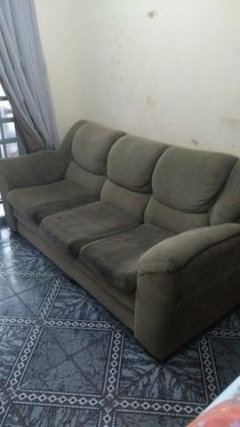 Conjunto de sofá 2 e 3 lugares