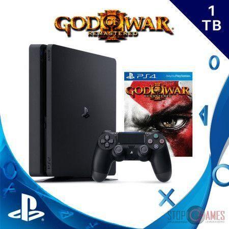 Playstation 4 Slim 1TB + God Of War 3
