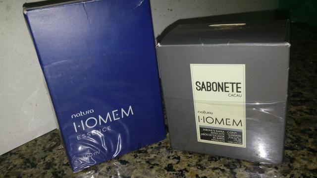 Perfume Natura homem + 2 sabonetes de brinde