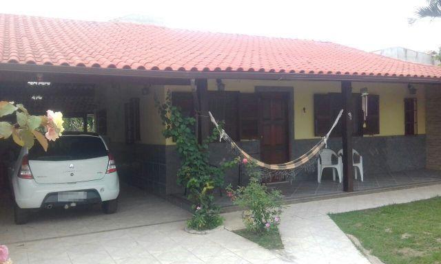 Casa com ótima localização pertinho da praia com 3 qts em Jaconé - Saquarema/RJ - Ac Carta