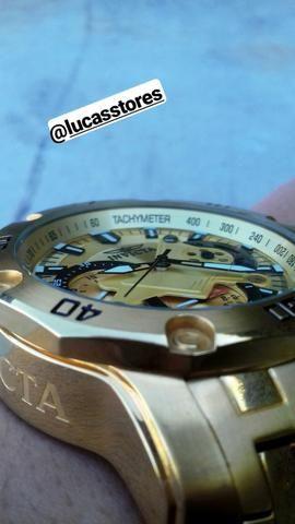 Relógio Invicta Pro Driver ORIGINAL COM NOTA FISCAL E CERTIFICADO