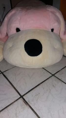Urso de Pelúcia grande rosa