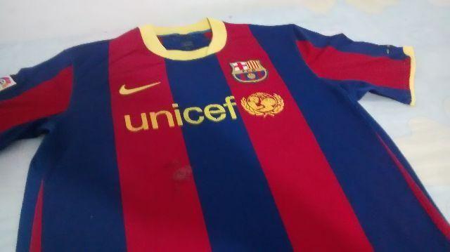Camisa Barcelona 2010-2011 M/g Original