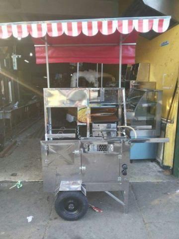 Carrinhos sob medida em aço Inox - Carrinho para Hot dog Inox 11 99534-8494