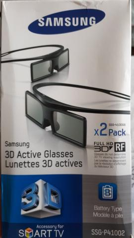 Óculos 3D Samsung Ativo novo na caixa.