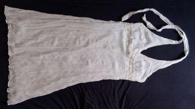 Vestido de crepe