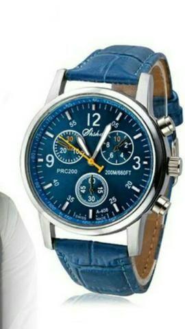 Relógio faux luxury fashion top