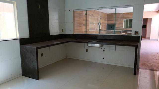 Casa nova 3quartos 3suites piscina churrasqueira rua5 Vicente Pires - Foto 13
