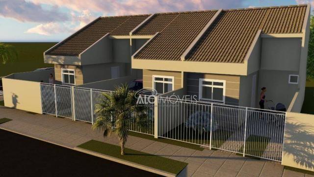 Casa com 2 dormitórios à venda, 36 m² por r$ 155.000,00 - ganchinho - curitiba/pr - Foto 18