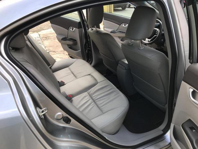 Honda Civic LXR 2.0 Automatico 2014 Completo Unico Dono - Foto 13
