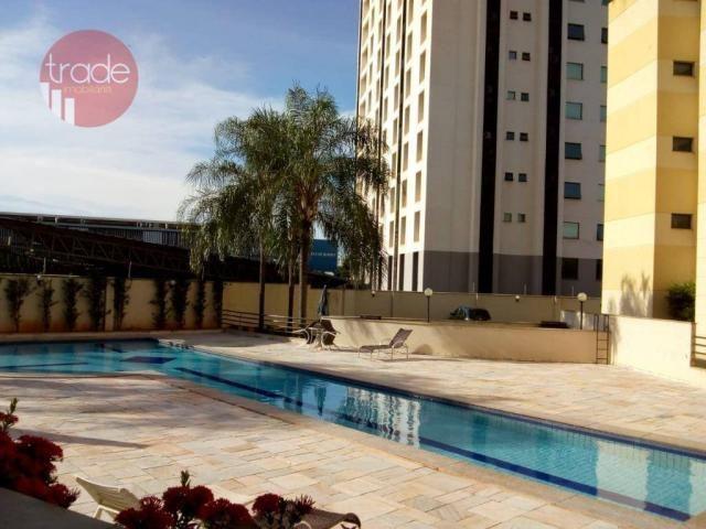 Apartamento com 1 dormitório para alugar, 37 m² por r$ 1.100/mês - nova aliança - ribeirão