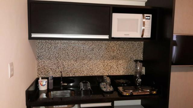 Flat Mobiliado para Aluguel Finamente Decorado no Hotel Executive - Centro