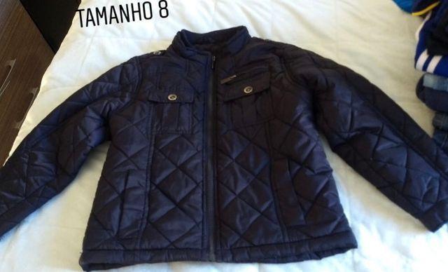 Jaqueta e camisa social infantil menino TAM 7/8. Preço acessível