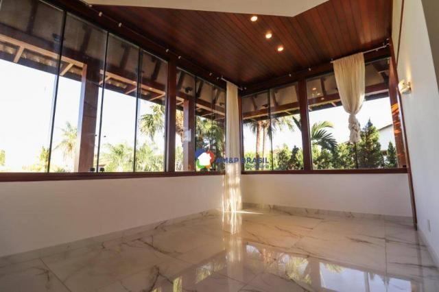Sobrado com 4 dormitórios à venda, 638 m² por R$ 3.199.000,00 - Residencial Granville - Go - Foto 18