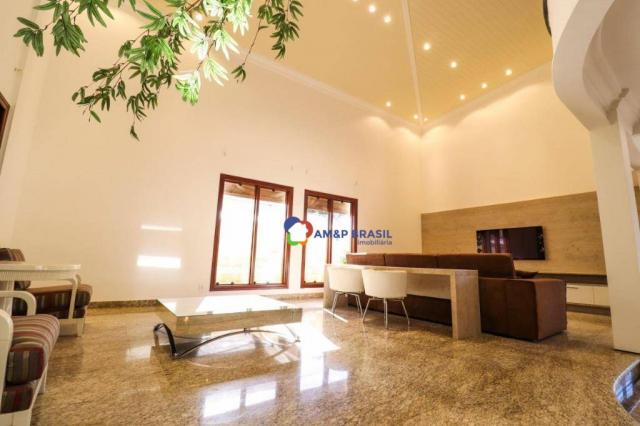 Sobrado com 4 dormitórios à venda, 638 m² por R$ 3.199.000,00 - Residencial Granville - Go - Foto 8