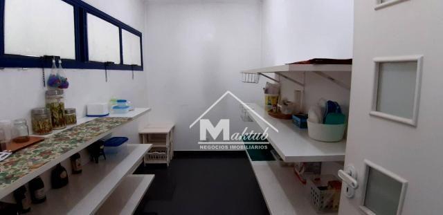 Cobertura com 4 suíte, para alugar, 395 m² por R$ 7.000/mês - Vila Valparaíso - Santo Andr - Foto 20